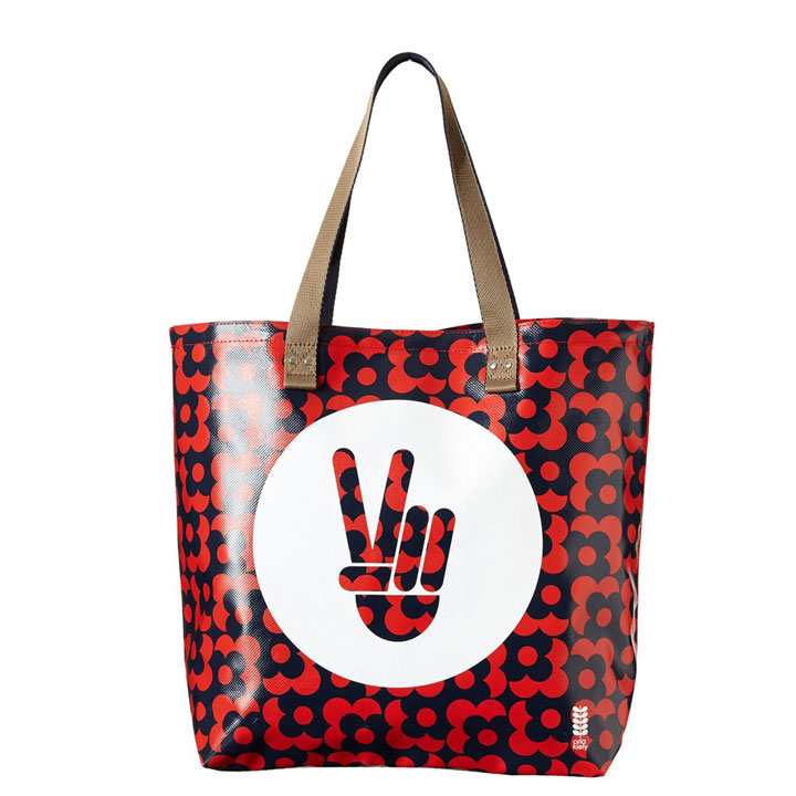 Orla Kiely x Lady Parts Justice Custom Tote Event