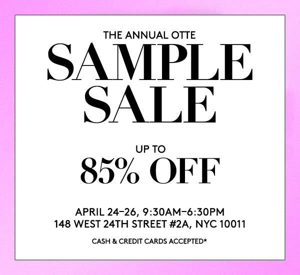 Otte NY Sample Sale