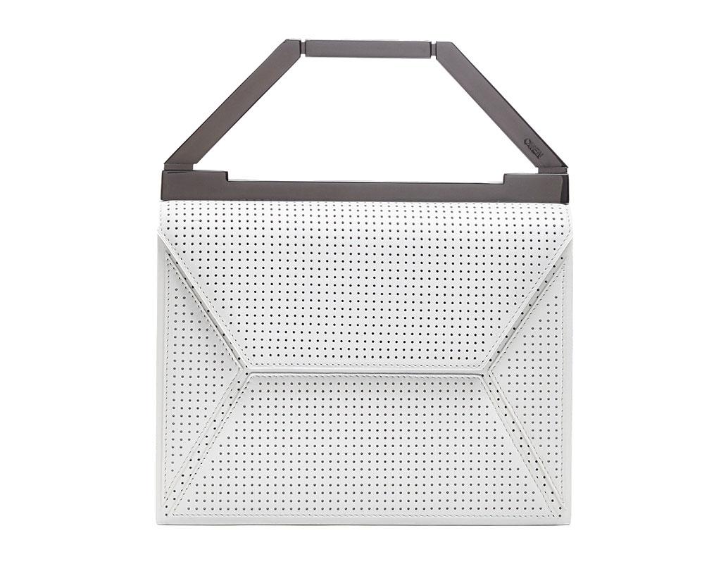 OWEN White Perforated Eva Bag: $275 (orig. $695)