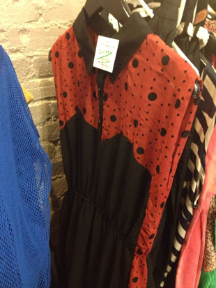 Ladybug-esque dress by Oxford Circus ($20, size Medium)