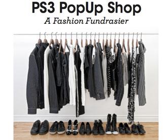 PS 3 Pop Up Shop Fundraiser
