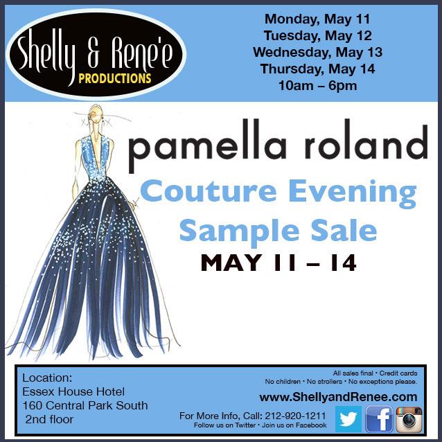 Pamella Roland Couture Eveningwear Sample Sale