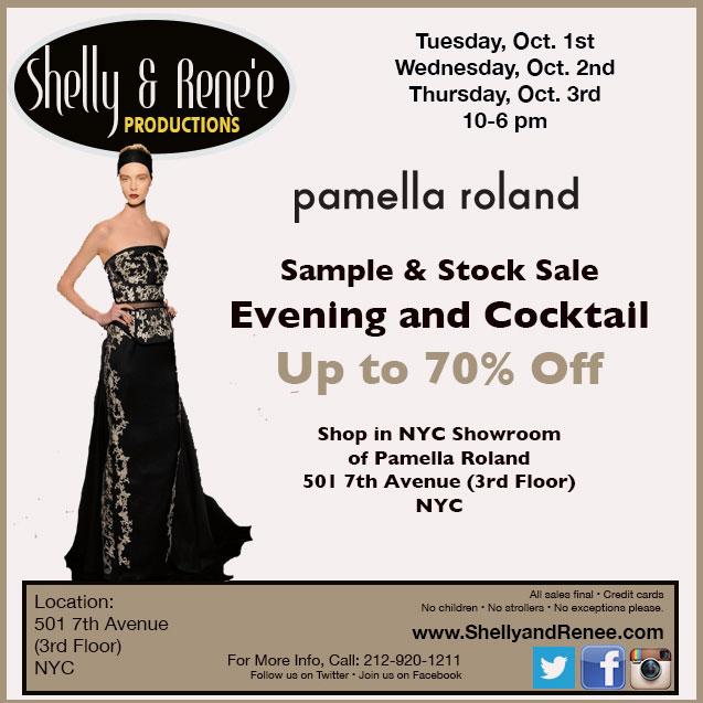 Pamella Roland Sample & Stock Sale