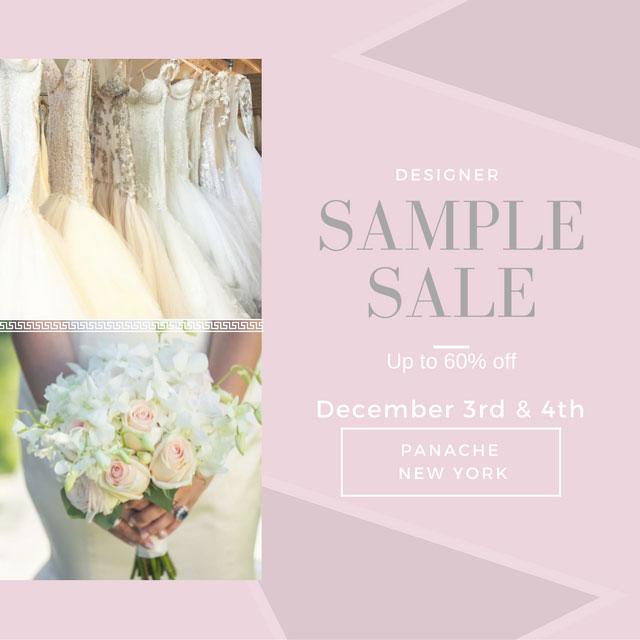 Panache Bridal Designer Wedding Dress Sample Sale