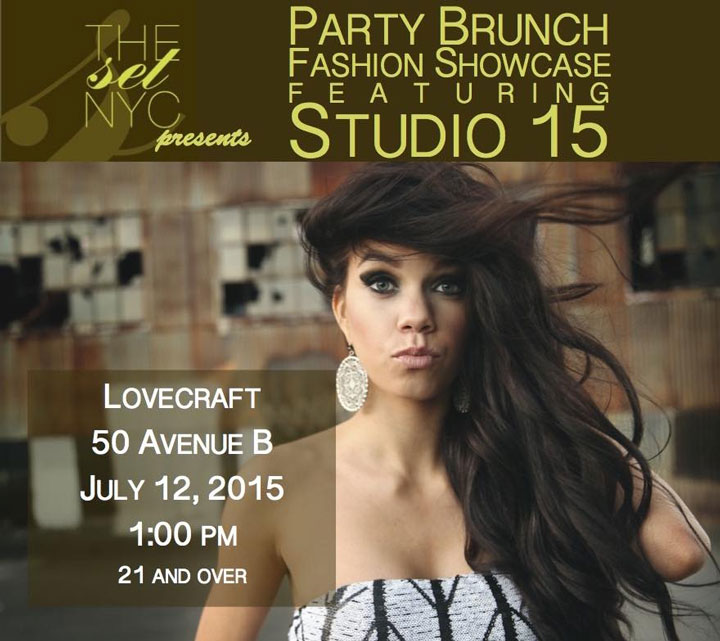 Party Brunch and Fashion Showcase Featuring Studio 15