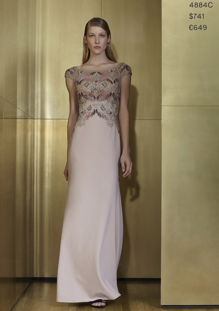 Patricia Bondaldi Beaded Gown: $741 (orig. $1855)