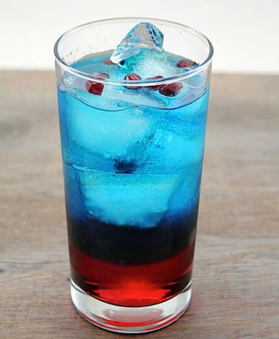 Patriot's Fan Cocktail