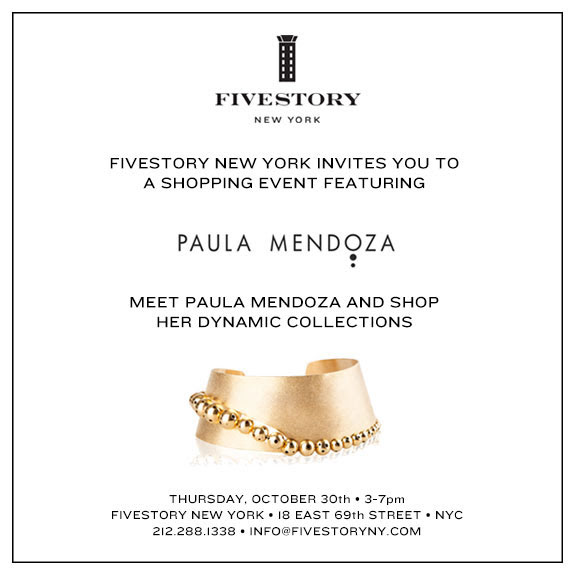 Paula Mendoza Shopping Event