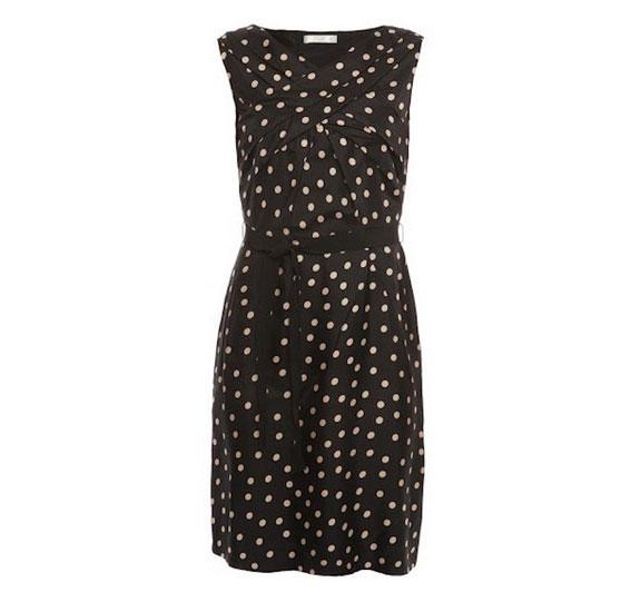 Paule Ka - Polka Dot Silk Dress, 60% Off, now $358 (reg. $895)