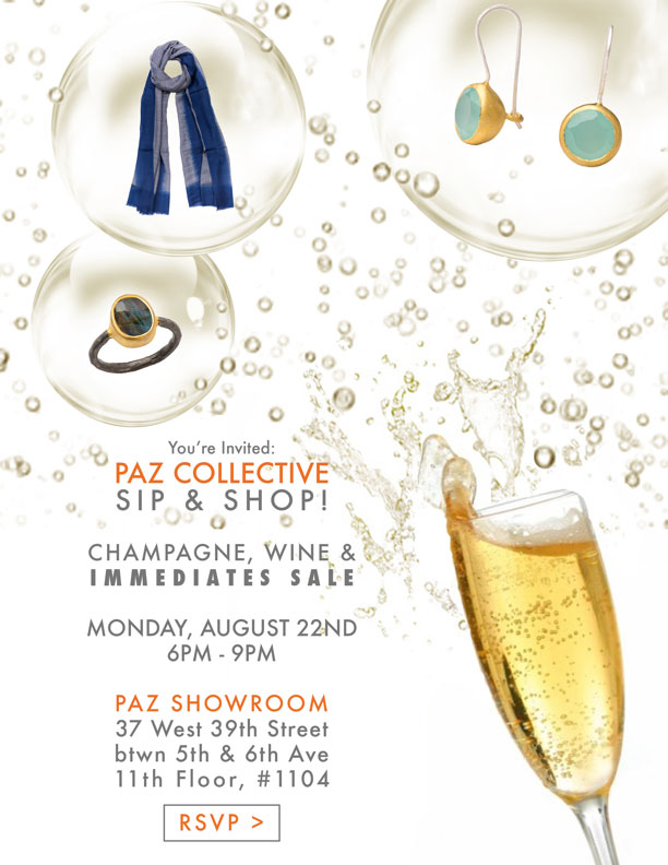Paz Collective Sip & Shop Event