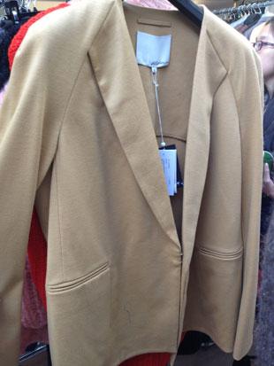 Collarless Knit Jacket ($175, orig. $550, size 6)
