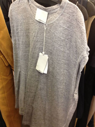 sunbleached white sweater ($150)