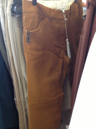 Wool pants that were worth a peak for their $75 price tags