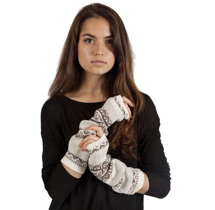 Plush Fair Isle Arm Warmer for $5