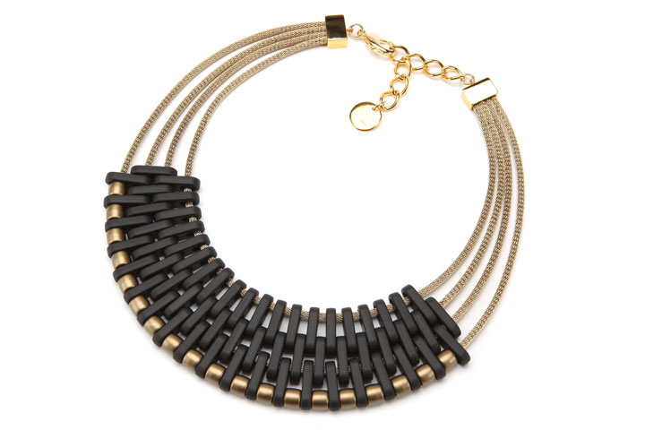 PONO Crescent Moon Resin Choker was $215 now $75