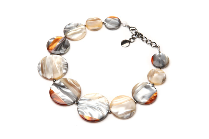 PONO Many Moons Resin Necklace was $440 now $180