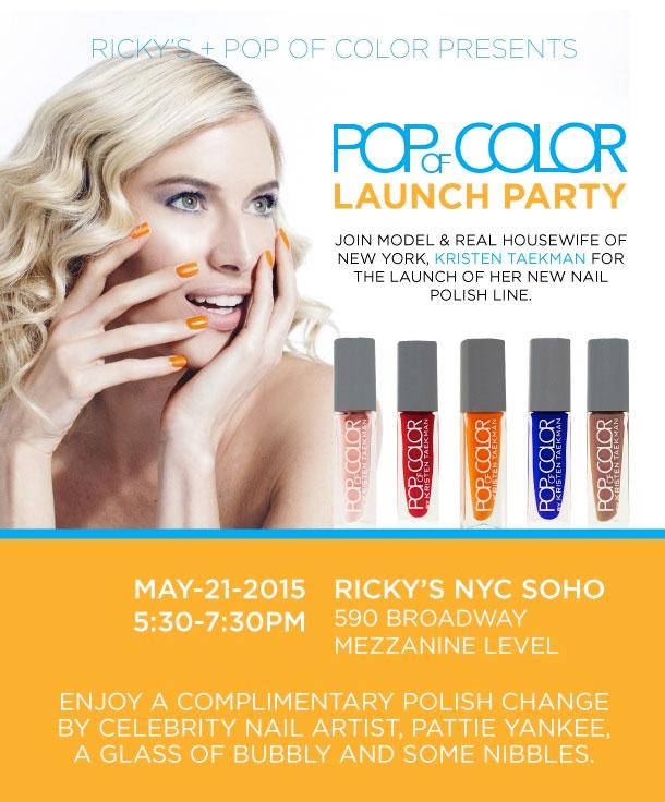 Pop of Color Launch Party