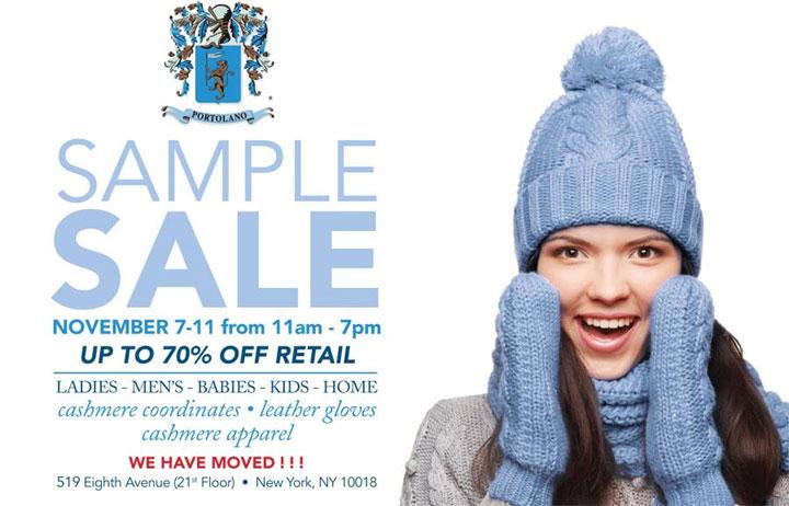 SAM Annual Sample Sale