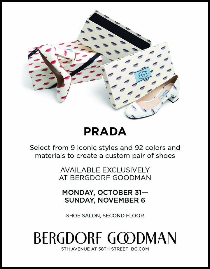 Prada Footwear Customization Event