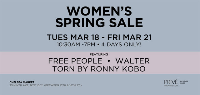 Free People, Walter, & More Spring Sale