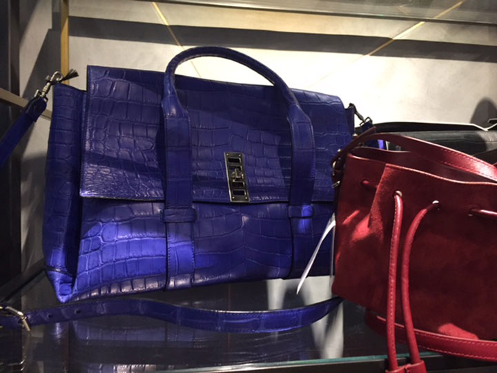 Elliot Crocodile Skin Bag for $8,400