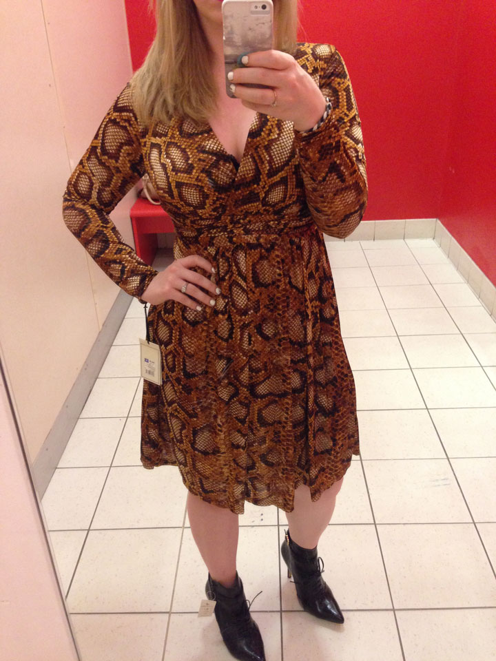 Altuzarra for Target Dress Python Print, $44.99