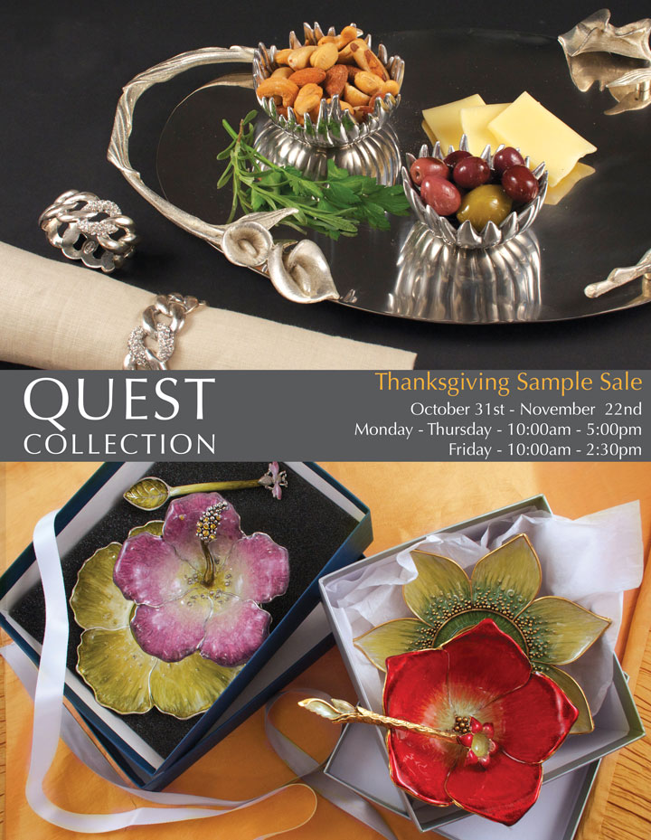 Quest Thanksgiving Sample Sale