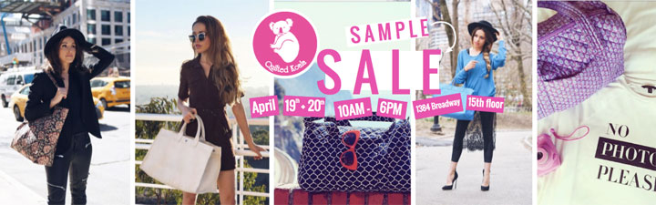 Quilted Koala Sample Sale