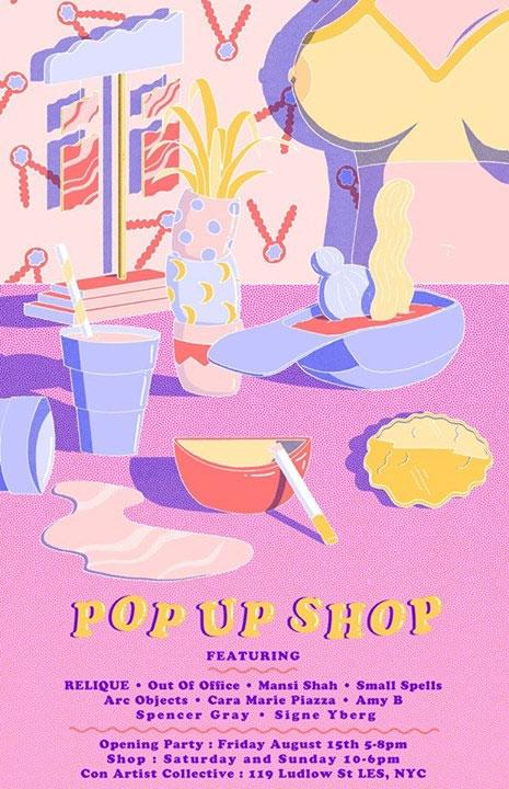 RELIQUE Pop Up Shop