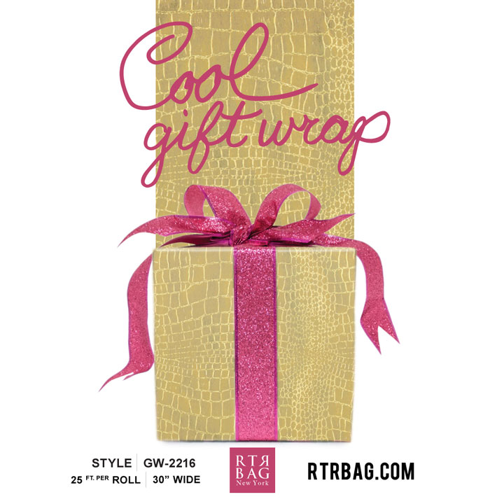 RTR Bag's Annual Gift Wrap & Holiday Packaging Sale
