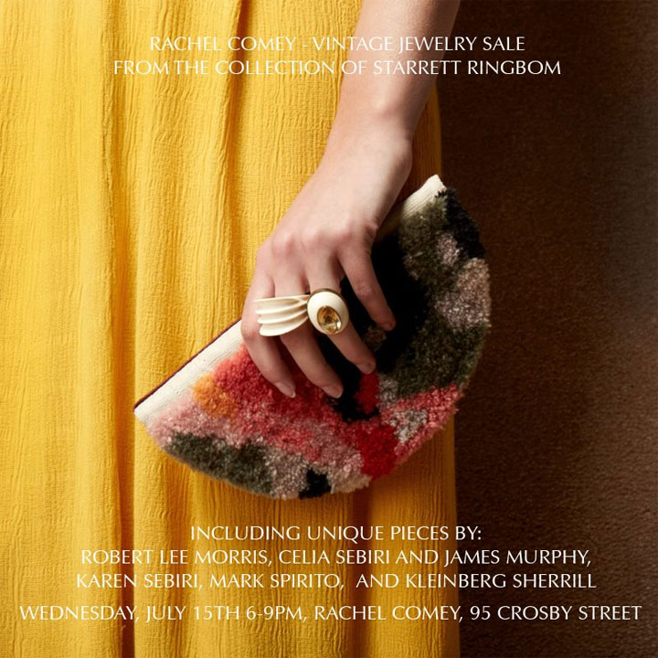 Rachel Comey Vintage Jewelry Sale