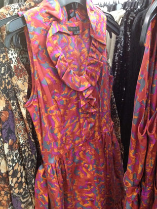 - Rachel-Zoe-Jacqueline-Belted-Silk-Ruffle-Dress