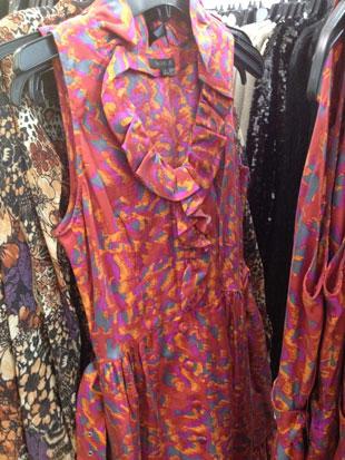 Rachel Zoe Jacqueline Belted Silk Ruffle Dress ($175, $179 on Gilt)