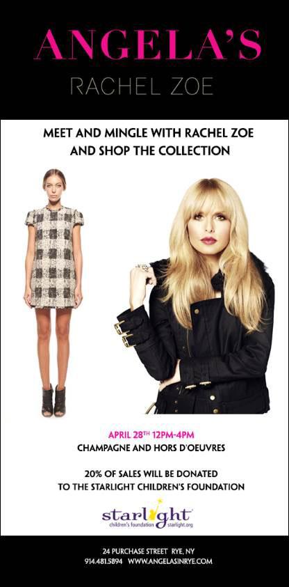 Rachel Zoe Shopping Event