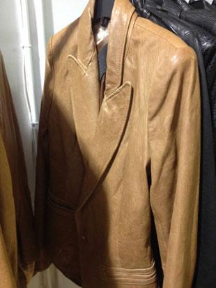 Rachel Zoe Sullivan Leather Blazer ($350)