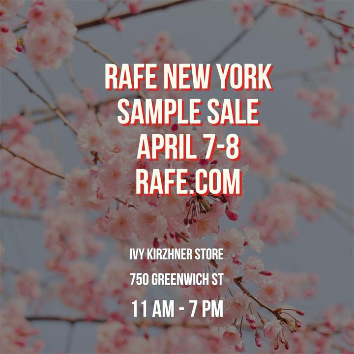 Rafe New York Sample Sale