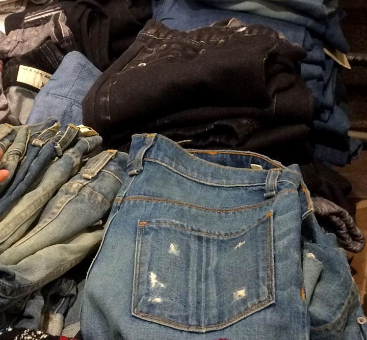 Premium jeans for $185