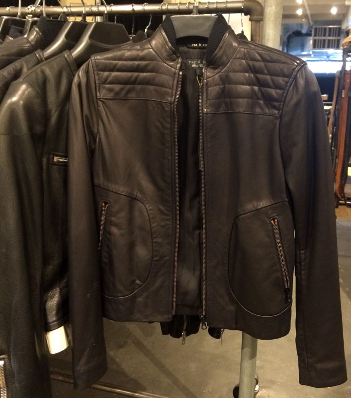 Leather Jacket for $495