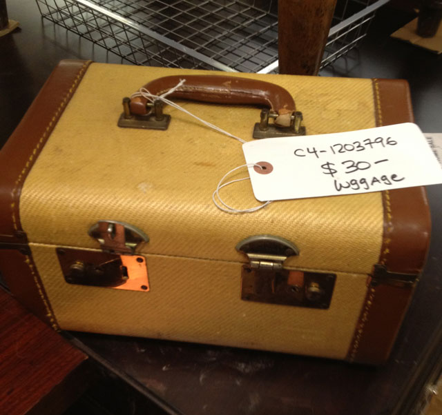 Ralph Lauren Vintage Stackable Suitcase ($30)