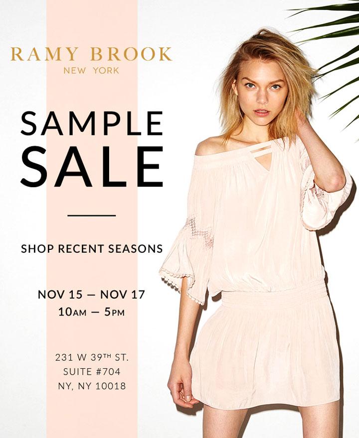 Ramy Brook Sample Sale