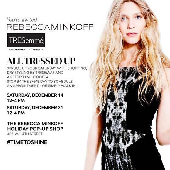 Rebecca Minkoff 'All Tressed Up' Shopping Event