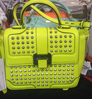 Elle Mini from last season's super saturated neon trend