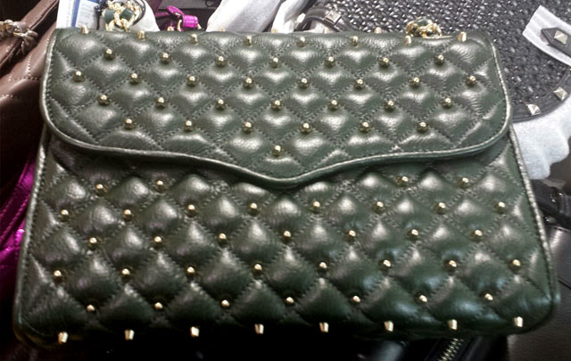 Quilted leather clutches for $200