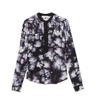 Ghost flower silk blouse: $79 (orig. $275)
