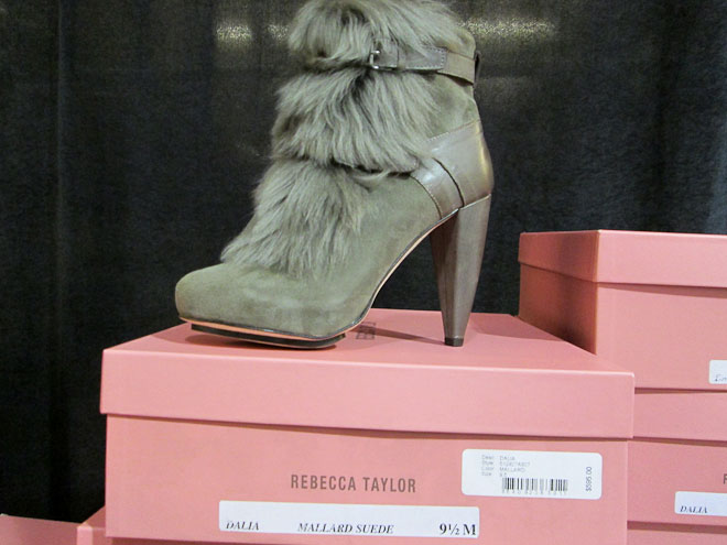 Fur lined Booties