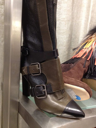 Reed Krakoff Leather Buckle Military Boots ($906.50, $1295)