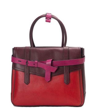 Reed Krakoff Leather Color Block Large Boxer Tote Bag : $650.00 (orig. $1,290.00)