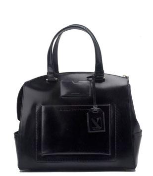Reed Krakoff Uniform Hard Satchel in Black: $550.00 (orig. $1,790.00)