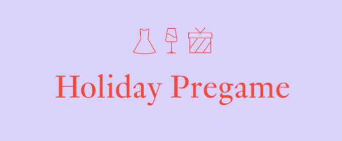 Rent The Runway Holiday Pregame Event