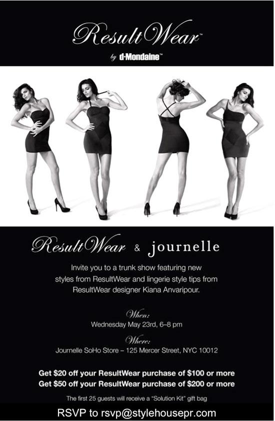 ResultWear + Journelle Trunk Show